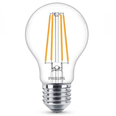 LED Лампа Fila-Classic A60 6-60W E27 865 CL ND (Philips)