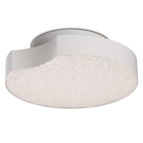 5767- LED/LUNAS/WHITE MATT+ACRYLIC 14W 3000K IP20 - потолочный светильник (MANTRA)
