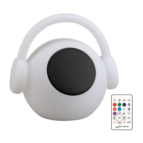3696 LED WAZOWSKY/MUSIC/WHITE 3W RGB& SPEAKER 10W- кемпинговый светильник  (MANTRA)