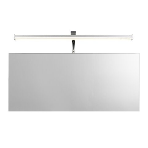 5085/SISLEY LED/SILVER CHROME/SIMPLE/IP44/6W/4000K - настенный светильник  (MANTRA)