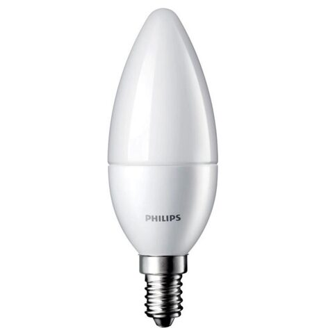 LED Лампа ESSimple Candle B38 6.5-60W E14 840 FR ND RCA (Philips)