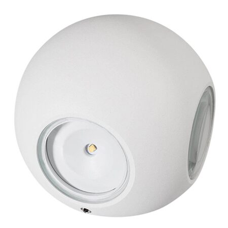 021819 Светильник LGD-Wall-Orb-4WH-8W Warm White (Arlight)